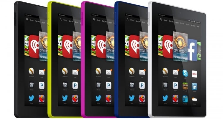 Amazon to Release $50 Fire Tablet for the Holidays