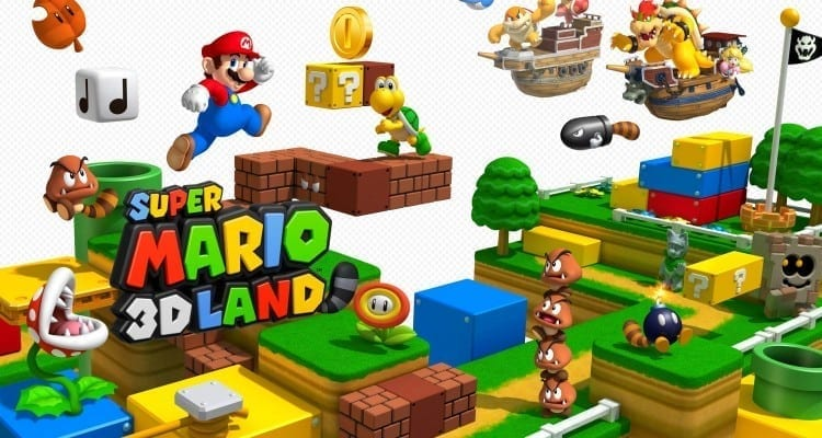 Wal-Mart Offering Free Mario Game with 3DS XL Purchase