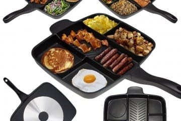 Master Pan: One Pan To Cook Them All