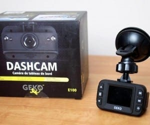 MEGATech Reviews: Geko E100 Dashcam