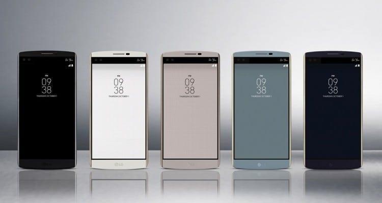 LG V10 Announced with Secondary Ticker Display, Dual Selfie Cameras