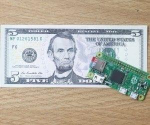 The New Raspberry Pi Zero is Only Five Bucks