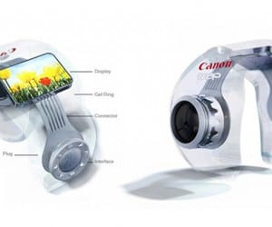 The Canon Camera Snap is a Camera That Fits on your Finger