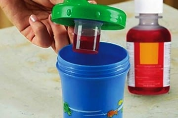 Sippy Cup Helps the Medicine Go Down