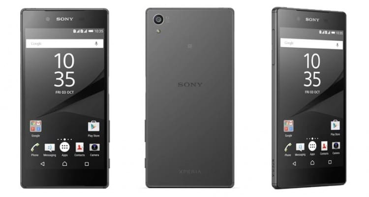 Sony Xperia Z5 Premium 4K Smartphone Finds a Home with Bell