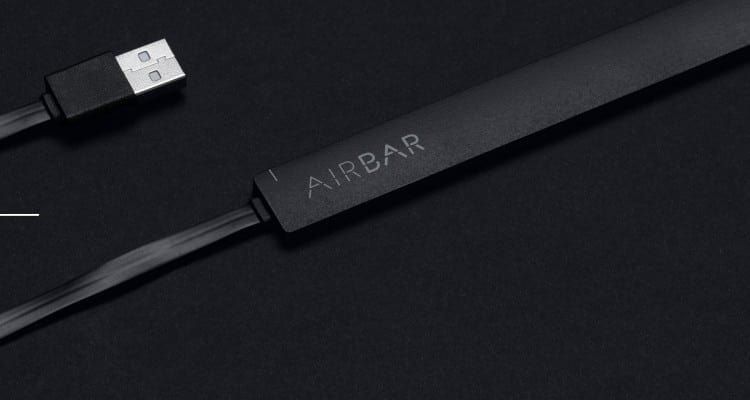 AirBar Puts Control at Your Fingertips
