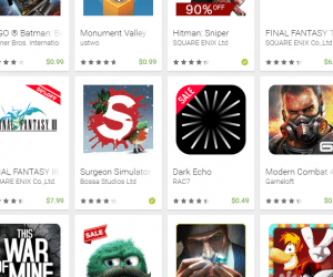 Holiday Deals on Games, Music, More on Google Play