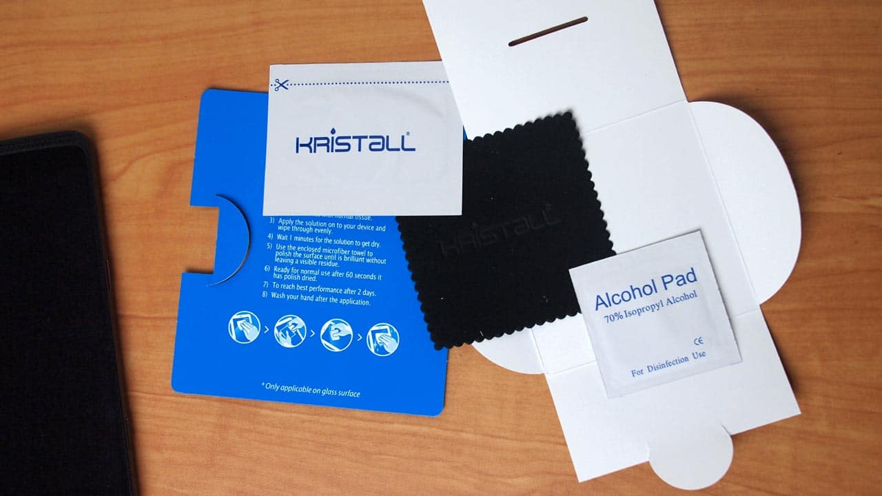 MEGATech Reviews: Kristall Liquid Screen Protector for Smartphones