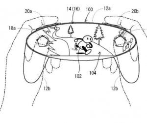 Touchscreen Gamepad Revealed in New Nintendo Patent