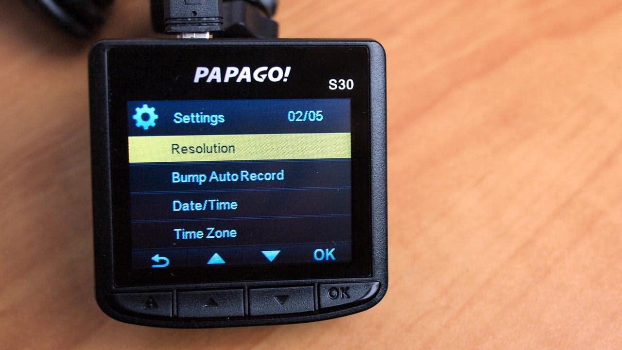 MEGATech Reviews - PAPAGO! GoSafe S30 Dashcam with Sony Exmor