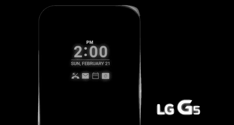 LG G5 Display Will Be 'Always On'