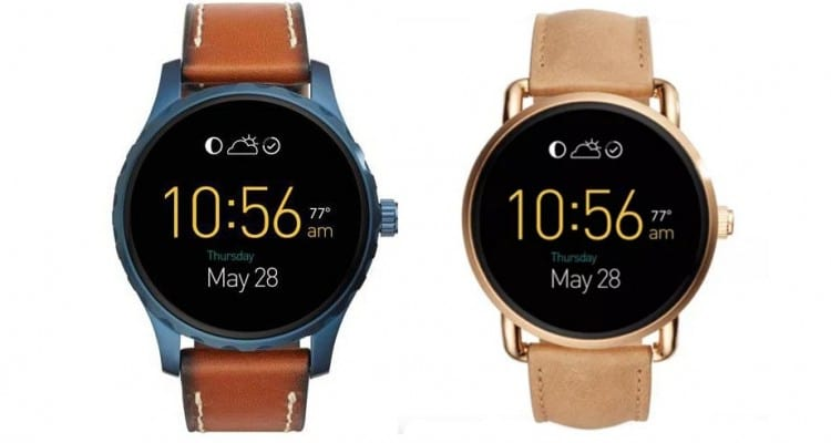 New Fossil Q Smartwatches Part of 100 Wearables This Year