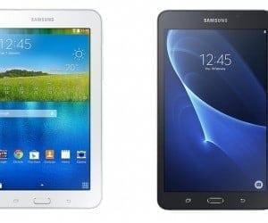 Samsung Galaxy Tab E Lite, Tab A 7 for Cheap Tablet Families
