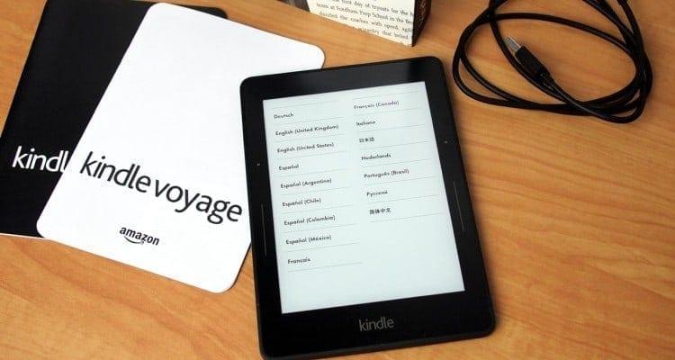 R.I.P. Amazon Kindle Voyage (2014-2018)