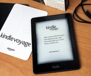 MEGATech Reviews: Amazon Kindle Voyage E-Book Reader