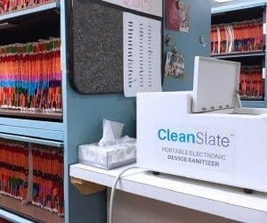 Interview: CleanSlate UV Sanitizer Obliterates Smartphone Germs in Hospitals and Clinics