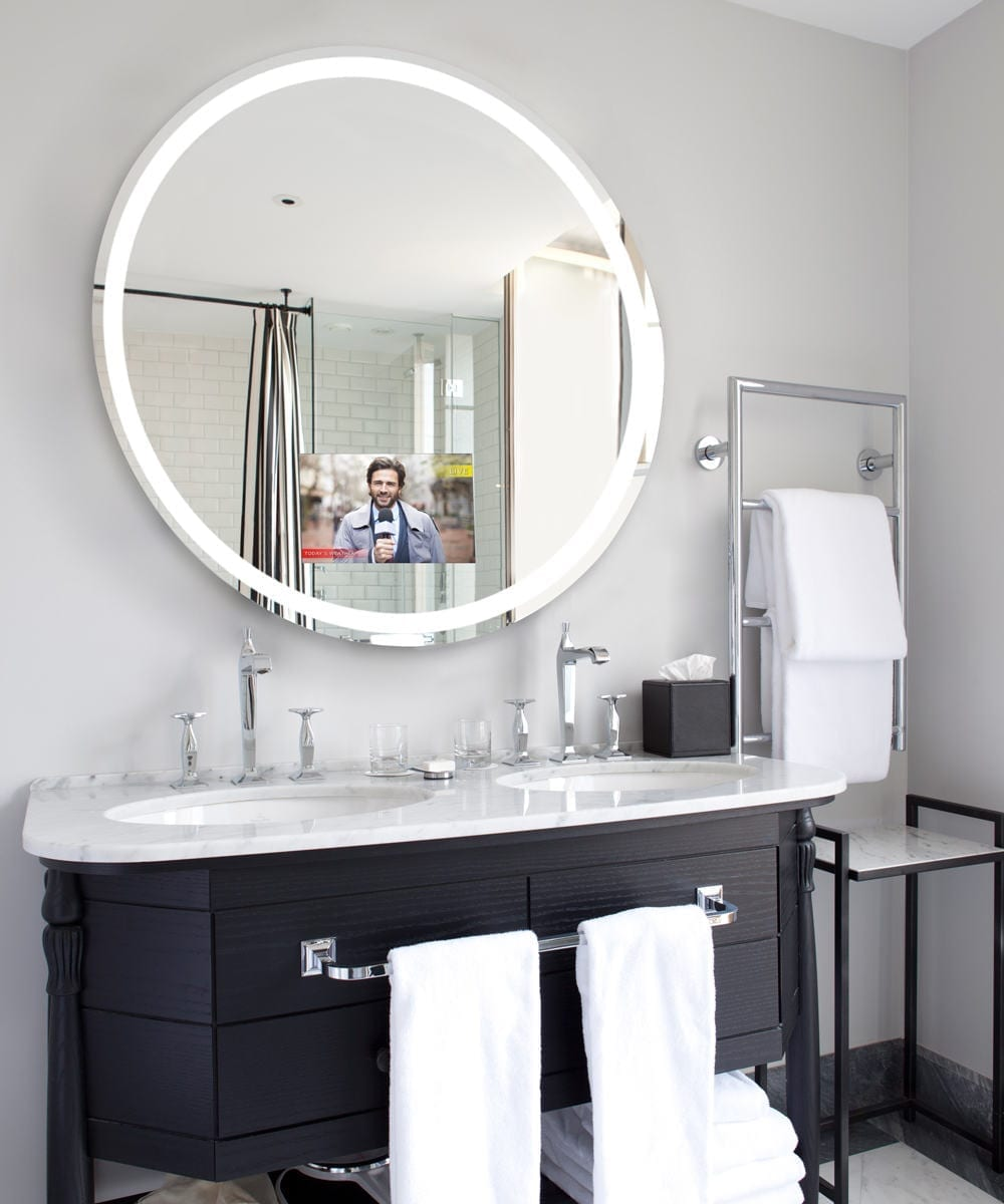 Never Miss a Thing With the Trinity Lighted Mirror TV - MEGATechNews