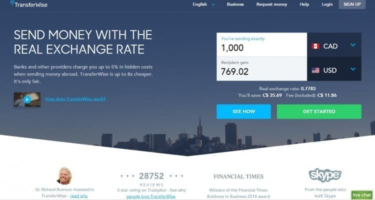 TransferWise: Cheaper International Money Transfers for Canadians