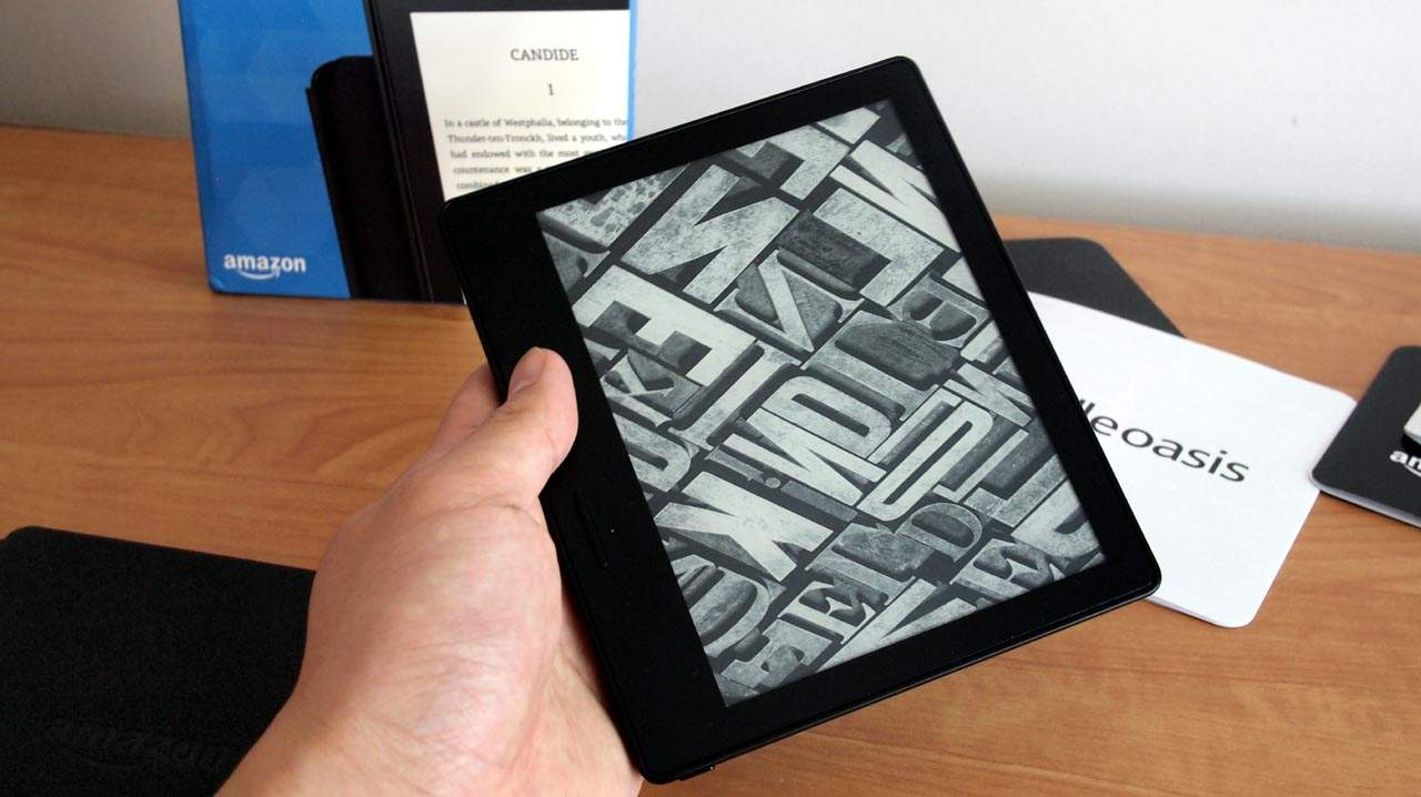 MEGATech Reviews: Amazon Kindle Oasis E-Reader