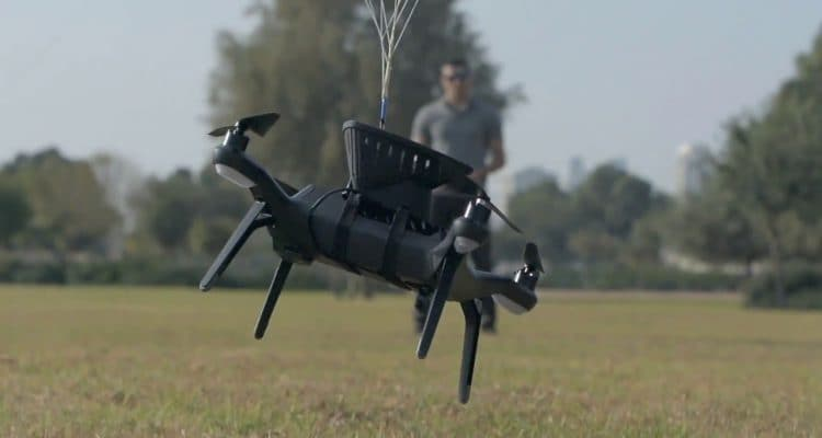 This Mini Parachute Can Save Your Drone From Nasty Impacts