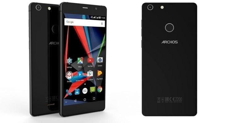 Archos 55 Diamond Selfie Smartphone for Budget Fashionistas