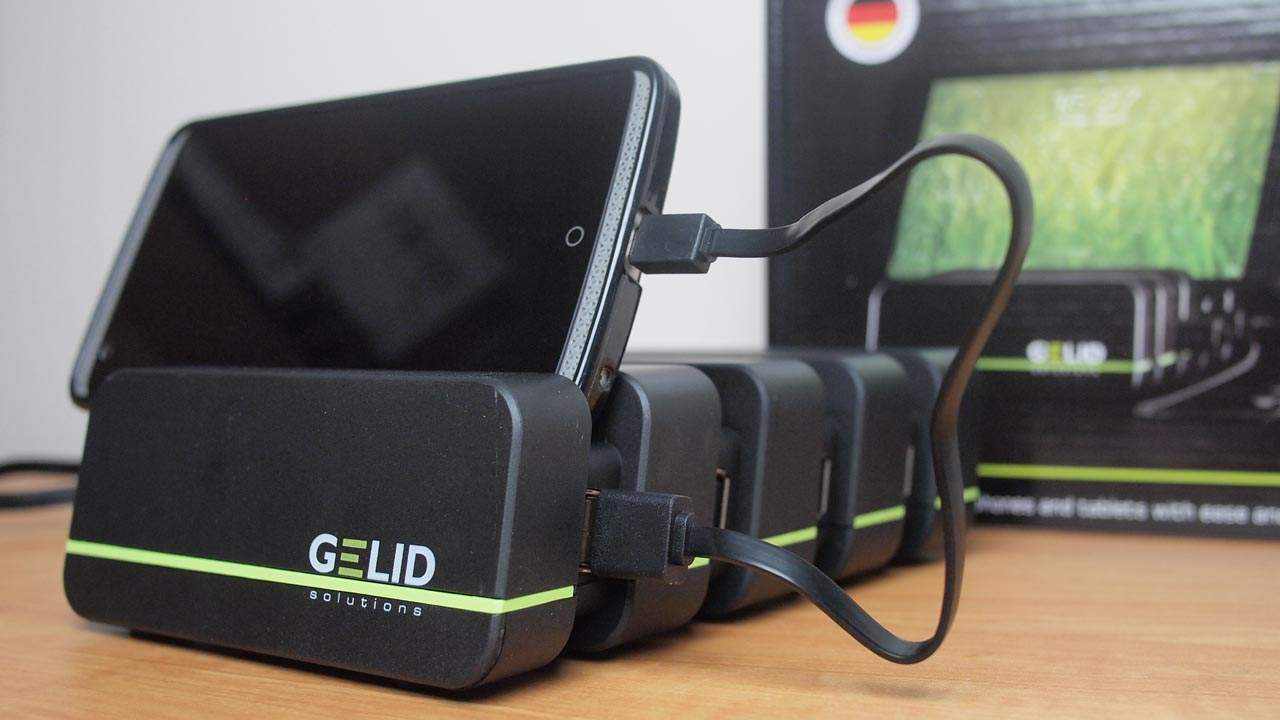 MEGATech Reviews: GELID Fourza Mobile Charging Station
