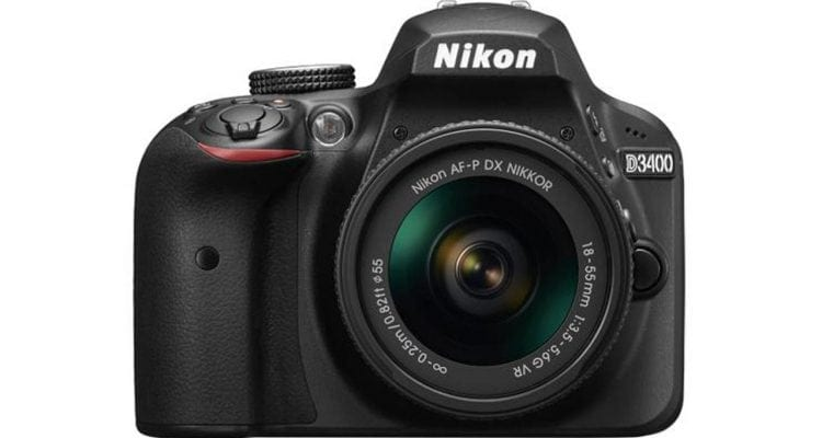 Nikon D3400 Leaves Its Bluetooth On All the Time