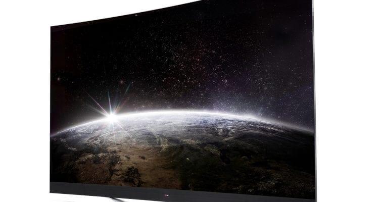 LG's 77-inch OLED 4K TV is Here