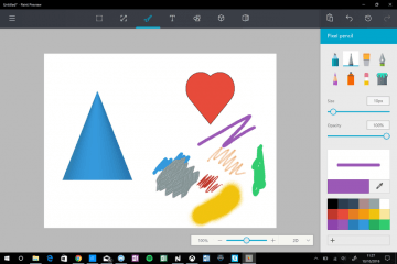 New Microsoft Paint for Windows 10 for Easy 3D Artwork