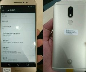"""Leaked Moto M Stands for """"Massive Battery"""""""