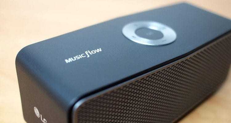 MEGATech Reviews: LG Music Flow P5 Bluetooth Speaker