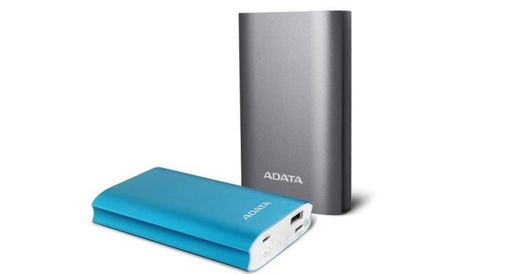 ADATA A10050QC Power Bank with Qualcomm Quick Charge 3.0