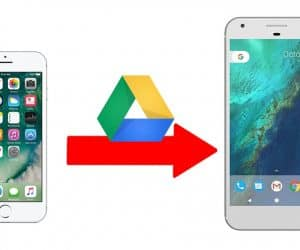 Switch from iPhone to Android with Google Drive Backups
