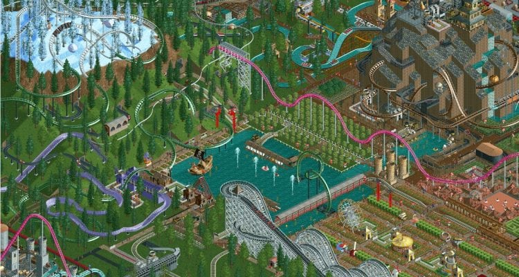 RollerCoaster Tycoon Classic Thrills on iOS and Android