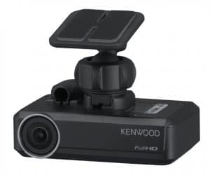 KENWOOD DRV-N520 Dashcam Connects to Your Car Stereo