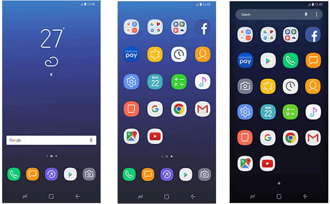 First Look At Samsung Experience Touchwiz On Galaxy S8