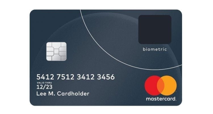 Mastercard Biometric Card Embeds a Fingerprint Sensor