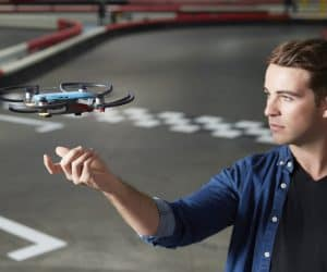 Tiny DJI Spark Drone Supports Hand Gestures