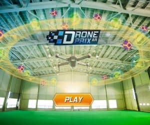 Drone Prix App Let's You Play AR Games with Your Drone