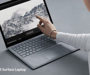 Microsoft Unveils Windows 10 S and the Surface Laptop