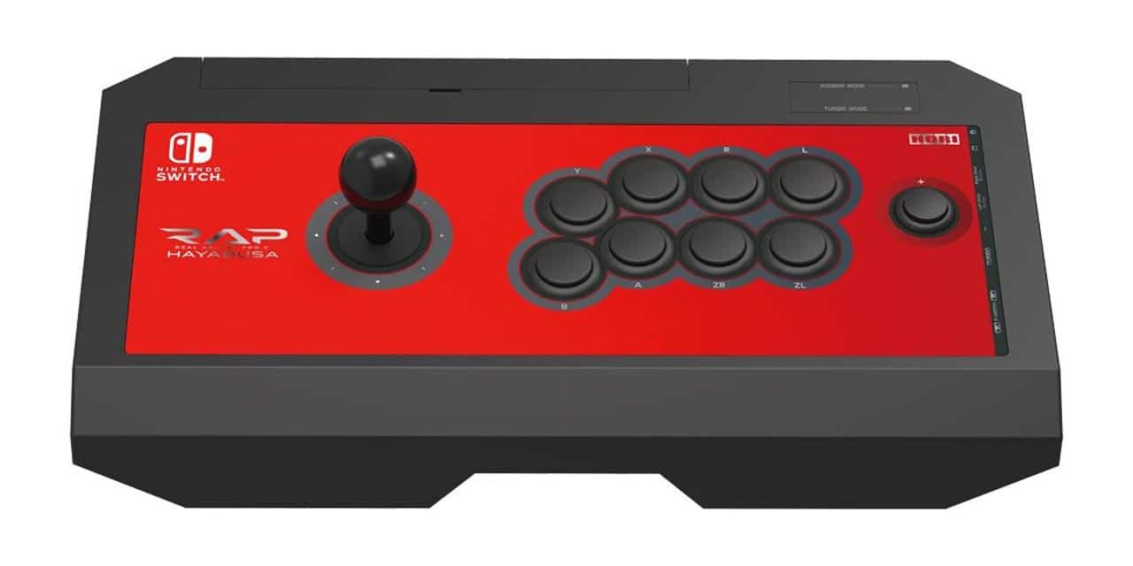 HORIPAD and HORI RAP V Hayabusa for Nintendo Switch