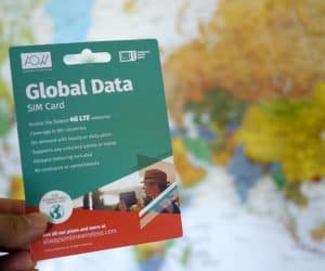 MEGATech Reviews: AlwaysOnline Wireless Global Data SIM