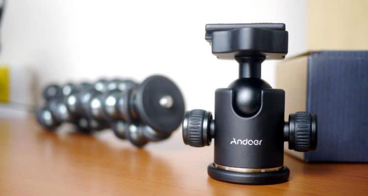 MEGATech Videos: Andoer Camera Tripod Ball Head