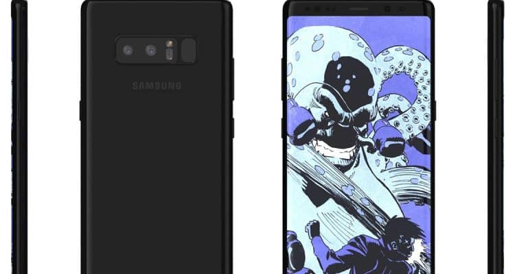 Here's What the Galaxy Note 8 Will Look Like