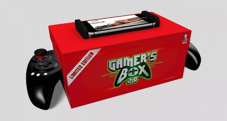 KFC Gamer's Box 2.0 Features Bluetooth Game Controller