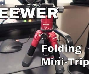 Neewer Portable Folding Mini Tripod (M225+CK30) - It Came From Amazon #1 (Video)