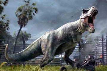 Jurassic Park + Rollercoaster Tycoon = Jurassic World Evolution