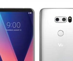 Leaked: LG V30 Going Almost Bezel-Free Too