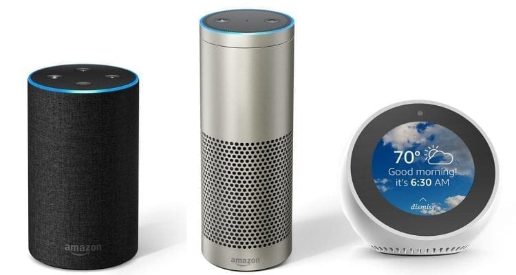 The New Amazon Echo Family for 2017