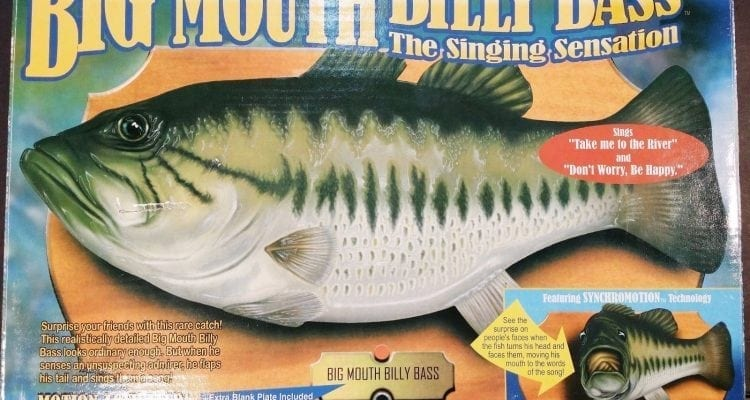 Big Mouth Billy Bass Will Soon Work with Alexa